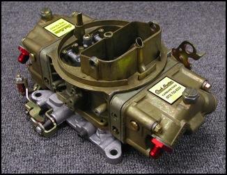 Chuck Nuyten Carburetors - Drag Racing